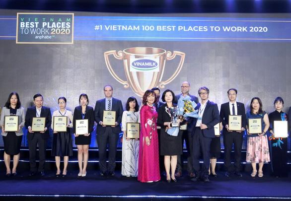 Vinamilk liên tiếp  được bình chọn là nơi làm việc tốt nhất Việt Nam - Ảnh 1.