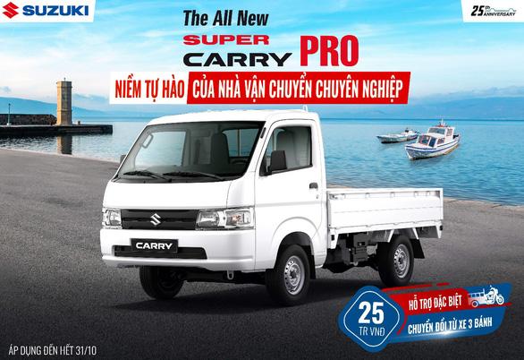 Tại sao xe tải nhẹ Super Carry Pro của Suzuki được tin dùng? - Ảnh 2.