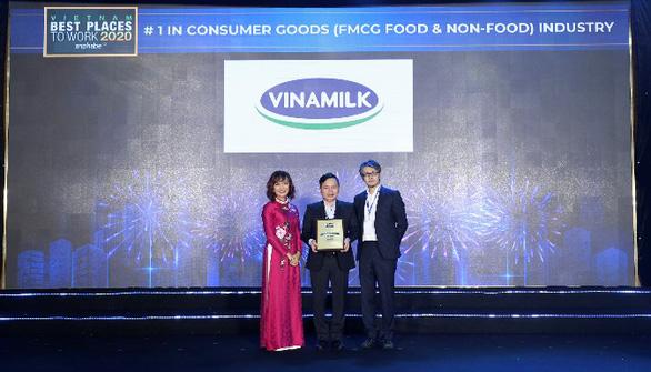 Vinamilk liên tiếp  được bình chọn là nơi làm việc tốt nhất Việt Nam - Ảnh 7.