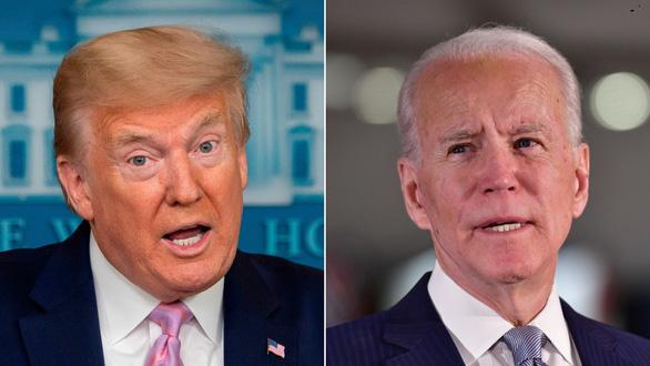 Ông Trump cười nhạo: Biden không nhớ nổi tên tôi - Ảnh 1.