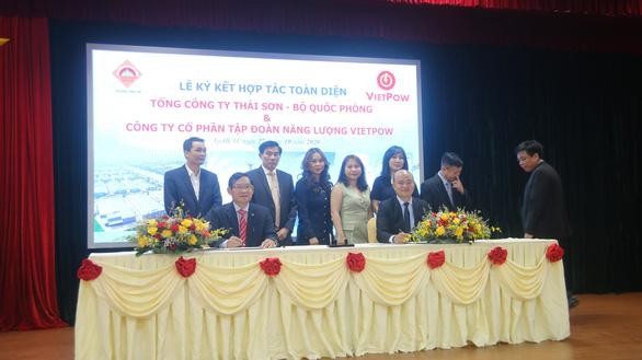 Tổng công ty Thái Sơn và VietPow hợp tác đẩy mạnh phát triển năng lượng sạch - Ảnh 2.