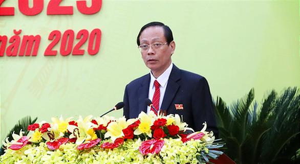 Ông Nguyễn Đức Thanh tái cử bí thư Tỉnh ủy Ninh Thuận - Ảnh 1.