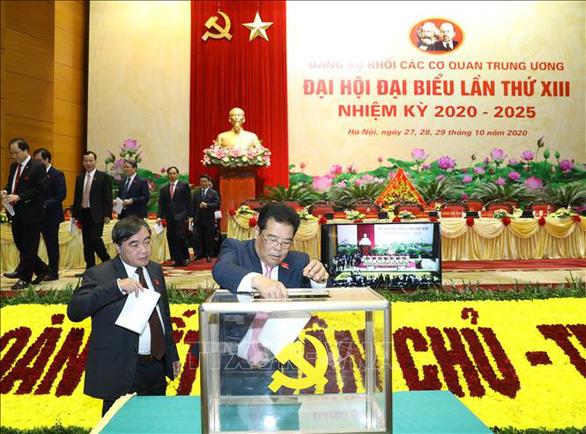 51 ủy viên tham gia Ban chấp hành Đảng bộ khối các cơ quan trung ương - Ảnh 1.
