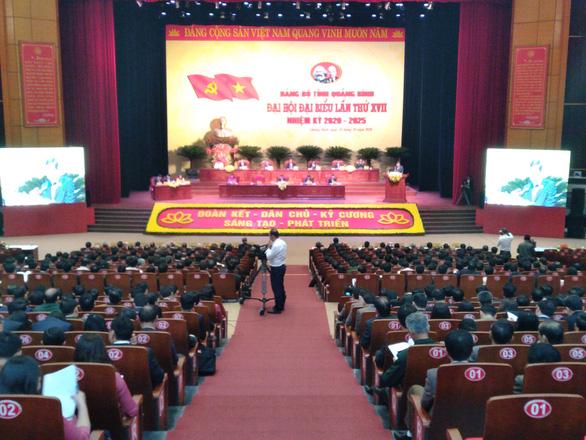 Đại hội Đảng bộ tỉnh Quảng Bình chỉ tổ chức trong ngày 28-10 - Ảnh 1.