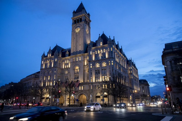 Ông Trump chọn khách sạn của chính mình ở Washington để ăn mừng tái đắc cử? - Ảnh 1.