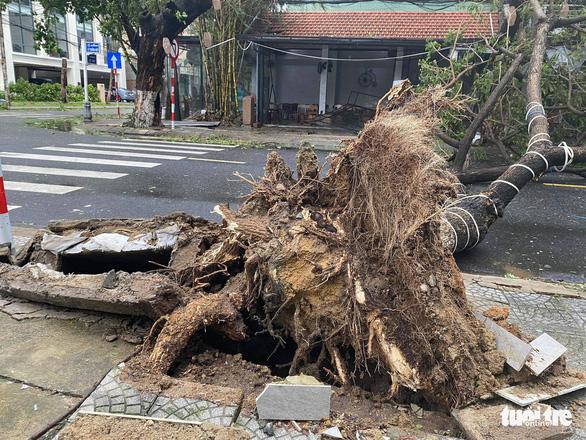 Chùm ảnh bão số 9 và hoàn lưu bão quần thảo ở Đà Nẵng - Ảnh 10.