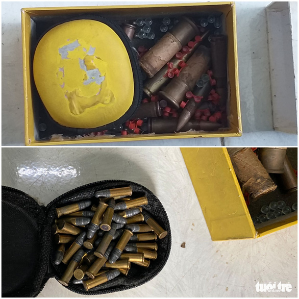 Bắt thanh niên tàng trữ ma túy, lộ ra cả kho súng đạn - Ảnh 4.