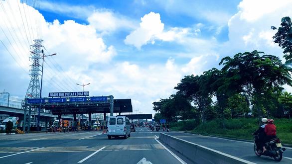 Dự án mở rộng xa lộ Hà Nội dời thu phí, dự kiến đến 1-12 - Ảnh 1.