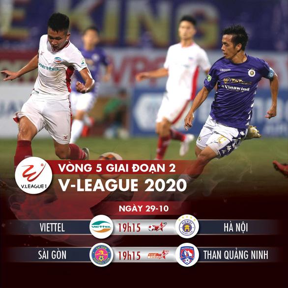 Lịch trực tiếp V-League 2020: CLB Viettel quyết đấu Hà Nội - Ảnh 1.