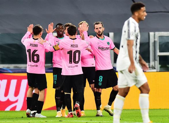 Messi ghi bàn, Barca hạ Juve trong ngày vắng Ronaldo - Ảnh 1.