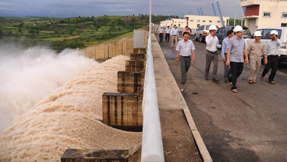 Thủy điện Sông Ba Hạ xả lũ 2.000m3/s - Ảnh 1.