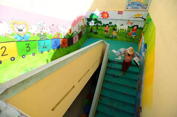 Tan hoang những ngôi trường ở tâm bão Quảng Ngãi - Ảnh 10.