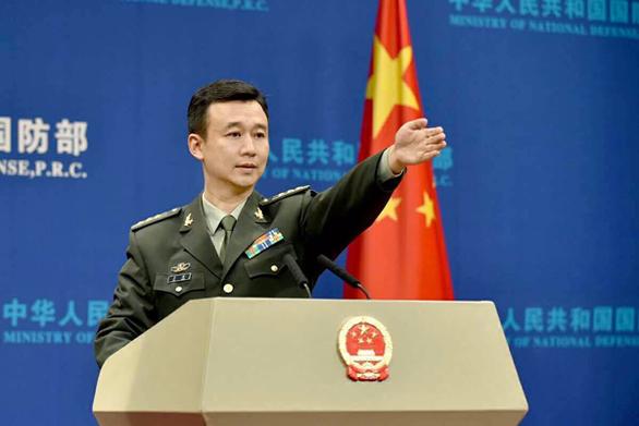 Quân đội Mỹ và Trung Quốc đối thoại giữa lúc căng thẳng về Biển Đông - Ảnh 1.