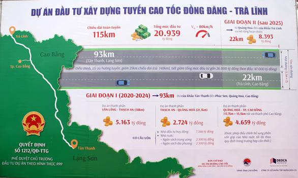 Khởi công đường kết nối, khởi động dự án đường cao tốc Đồng Đăng - Trà Lĩnh - Ảnh 2.