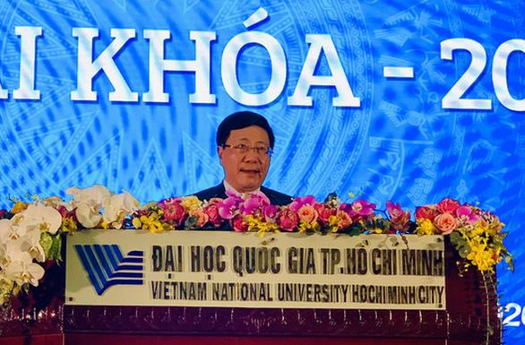 Phó thủ tướng Phạm Bình Minh: Thúc đẩy hợp tác quốc tế đào tạo nhân lực chất lượng cao - Ảnh 1.