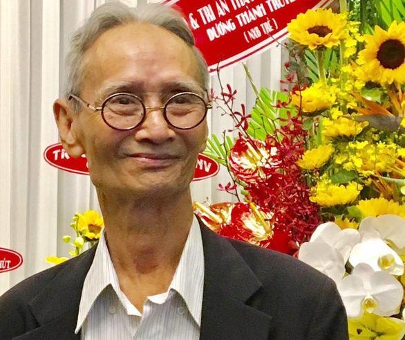Nhà giáo Trần Chút: Dành trọn đời cho ngôn ngữ học - Ảnh 1.