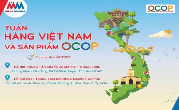 Tuần hàng Việt Nam và sản phẩm OCOP sắp diễn ra tại MM Mega Market - Ảnh 1.