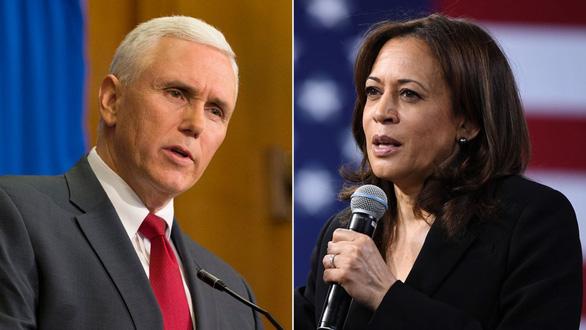 Hai ứng viên phó tổng thống Mỹ Pence - Harris sẽ ngồi xa hơn nữa khi tranh luận - Ảnh 1.