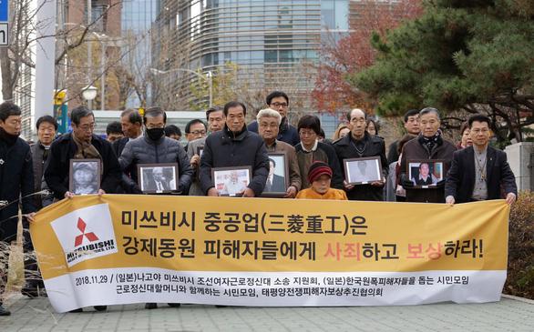 Tòa án Hàn Quốc sẽ cưỡng chế bán tài sản công ty công nghiệp nặng Mitsubishi Nhật - Ảnh 1.