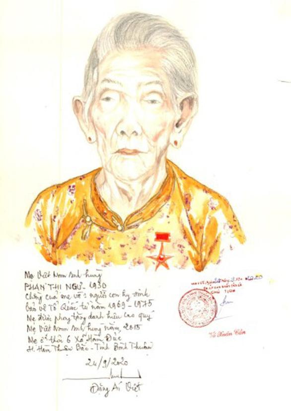 Lần đầu có website ảnh chân dung 'Mẹ Việt Nam anh hùng' - Ảnh 4.