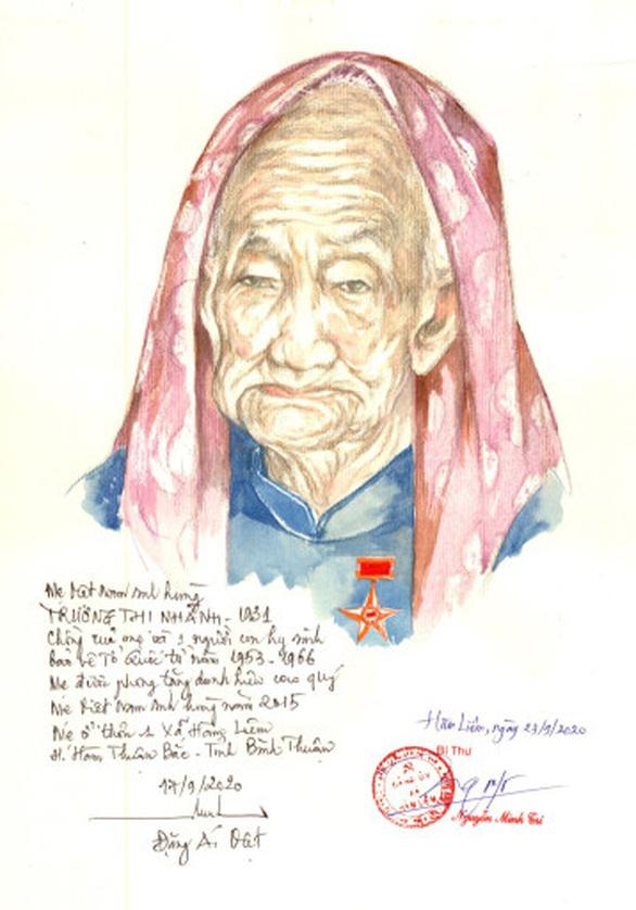 Lần đầu có website ảnh chân dung 'Mẹ Việt Nam anh hùng' - Ảnh 8.