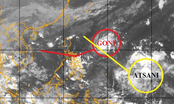 Bão Goni đang tăng cấp, Nam Trà My tiếp tục mưa - Ảnh 1.
