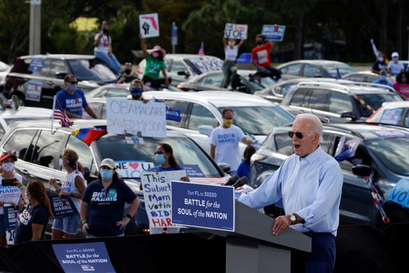 Ông Biden: 'Nếu Florida chọn màu xanh, cuộc đua coi như kết thúc' - Ảnh 2.