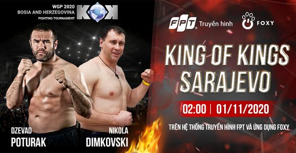 Huyền thoại Kick Boxing Dzevad Poturak thượng đài tại King of Kings Sarajevo - Ảnh 1.