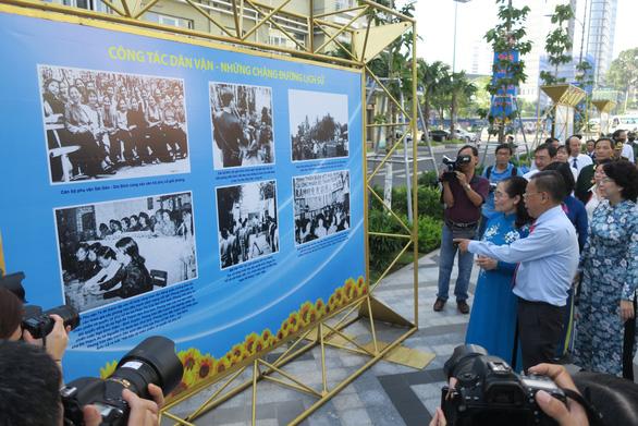 Triển lãm 90 năm ngày truyền thống công tác dân vận - Ảnh 1.