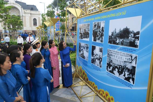 Triển lãm 90 năm ngày truyền thống công tác dân vận - Ảnh 3.
