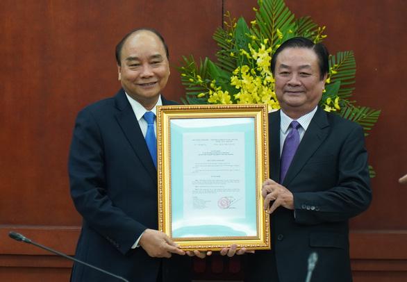 Nguyên bí thư Tỉnh ủy Đồng Tháp nhậm chức thứ trưởng Bộ NN&PTNT - Ảnh 1.