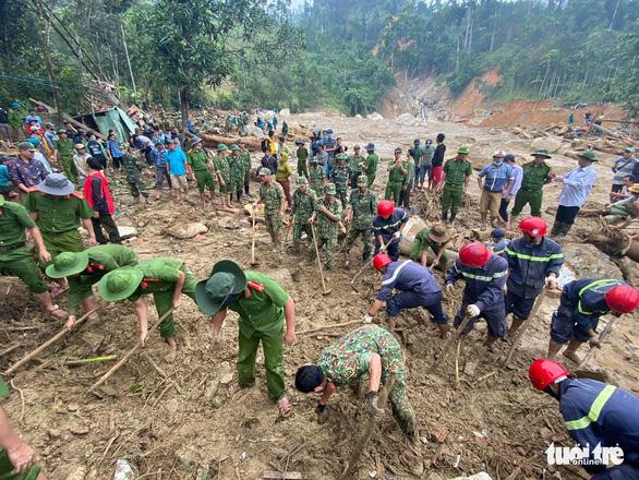 Công bố danh tính các nạn nhân trong vụ sạt lở ở Trà Leng - Ảnh 1.