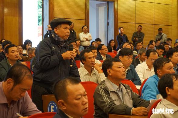 Lãnh đạo Hà Nội gặp dân Sóc Sơn về chuyện khu xử lý rác - Ảnh 1.