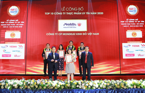 Mondelez Kinh Đô đạt top 10 Công ty thực phẩm uy tín năm 2020 - Ảnh 1.