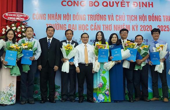 GS.TS Nguyễn Thanh Phương làm chủ tịch Hội đồng trường ĐH Cần Thơ - Ảnh 1.