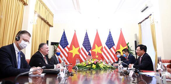 Ông Pompeo: Mỹ cam kết duy trì quan hệ ổn định, tiếp tục hợp tác với Việt Nam - Ảnh 3.