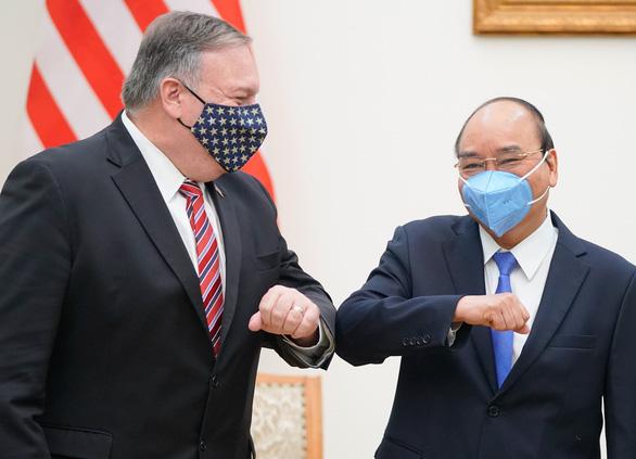 Ông Pompeo: Mỹ cam kết duy trì quan hệ ổn định, tiếp tục hợp tác với Việt Nam - Ảnh 1.