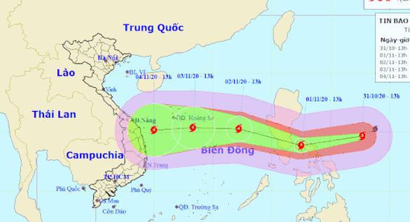 Miền Trung Việt Nam phải sẵn sàng ứng phó siêu bão Goni - Ảnh 1.