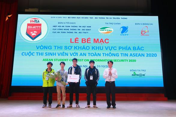 10 đại diện Việt Nam thi đấu an toàn thông tin với 6 nước ASEAN - Ảnh 1.