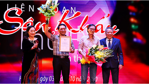 Kịch của Xuân Trình, Lưu Quang Vũ cùng giành giải vàng - Ảnh 1.