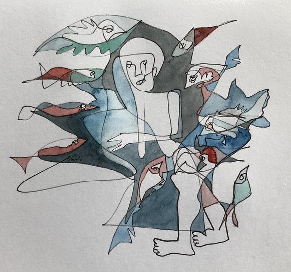 Truyện ngắn: Bể cá - Ảnh 1.