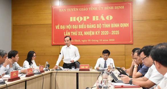 Nhân sự Đại hội Đảng tỉnh Bình Định: không còn phải giải quyết đơn khiếu nại, tố cáo nào - Ảnh 1.