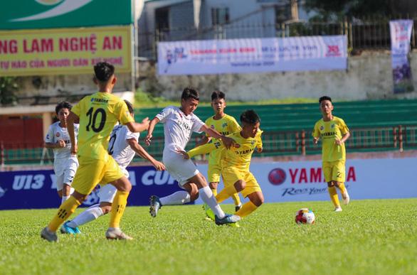 Sông Lam Nghệ An đánh bại Hoàng Anh Gia Lai ngày khai mạc giải U13 toàn quốc - Ảnh 1.