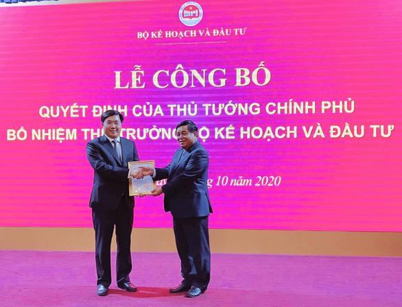 Vụ trưởng Vụ Kinh tế địa phương được thăng chức Thứ trưởng Bộ Kế hoạch và đầu tư - Ảnh 1.