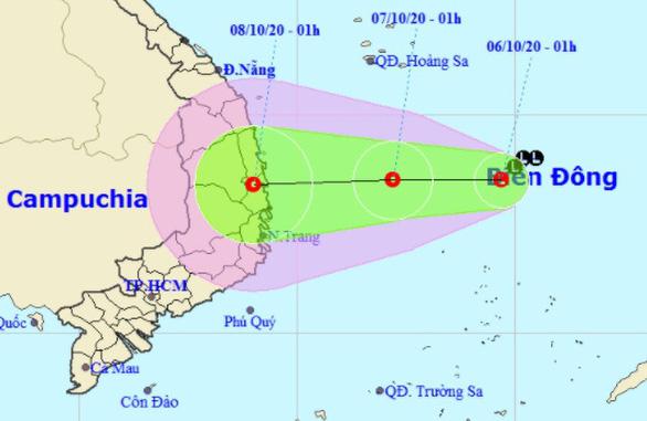 Áp thấp nhiệt đới có thể xuất hiện ngày mai, nhiều tỉnh thành mưa gió phức tạp - Ảnh 1.