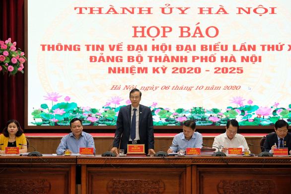Đại hội Đảng bộ Hà Nội giới thiệu 81 người, bầu 71 người - Ảnh 1.