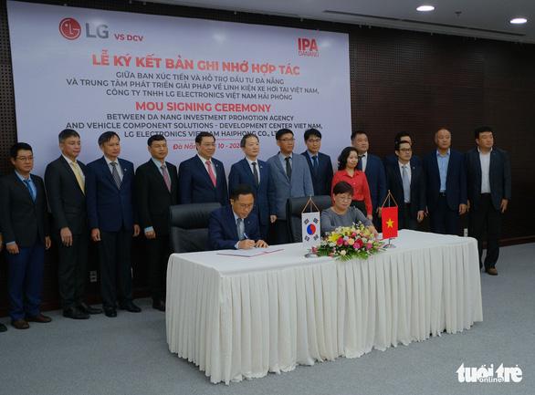 Tập đoàn LG chọn Đà Nẵng làm cứ điểm nghiên cứu phát triển - Ảnh 1.