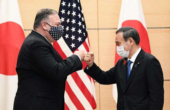 Tại Tokyo, Ngoại trưởng Mỹ lên án hoạt động nham hiểm của Trung Quốc - Ảnh 1.