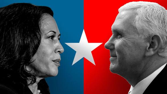 Hai 'phó tướng' Pence - Harris công kích nhau cách đối phó COVID-19 và Trung Quốc - Ảnh 1.