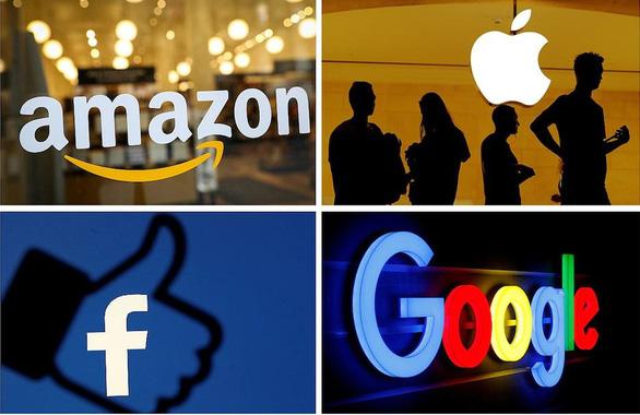 Báo cáo 449 trang tố Apple, Amazon, Facebook và Google độc quyền - Ảnh 1.